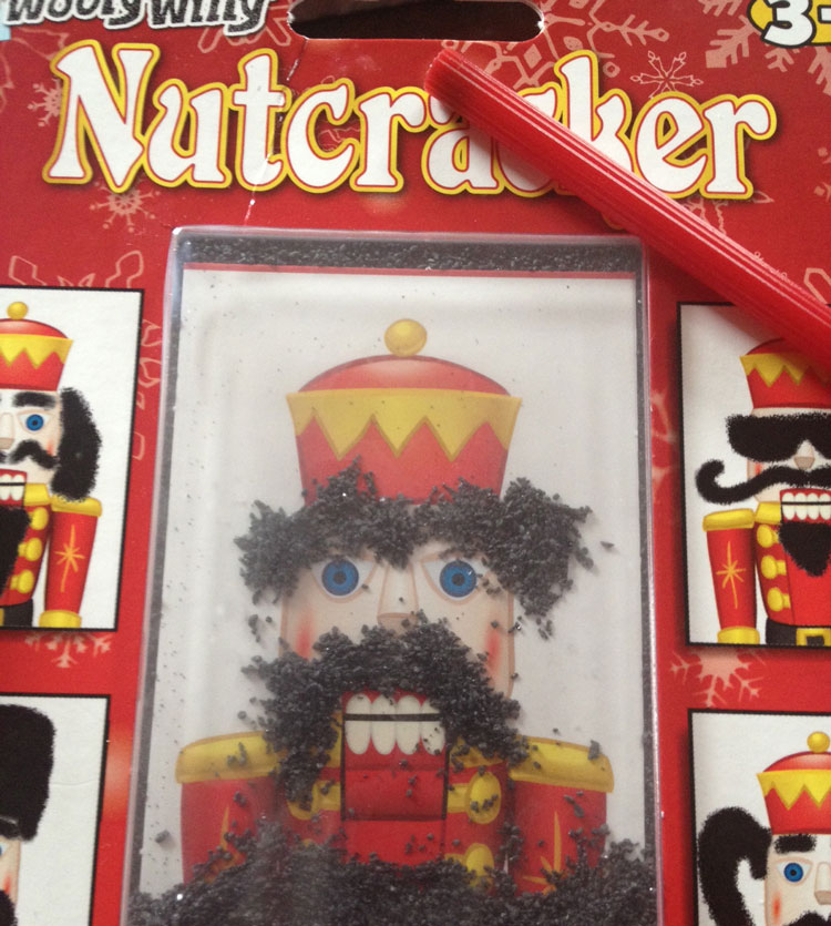 Magnetic Holidays - Magnetic Nutcracker toy