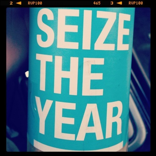 seize the year