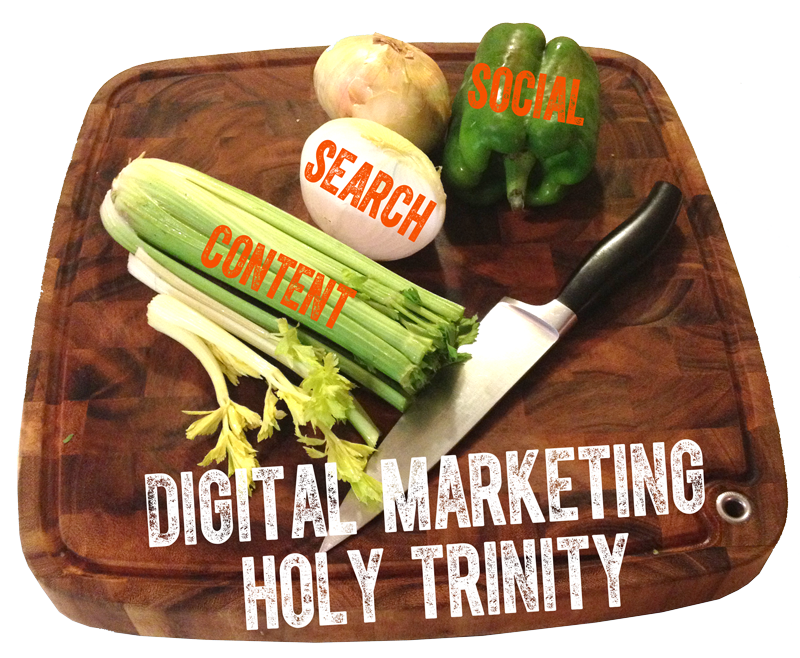 Content Search and Social: the Digital marketing holy trinity