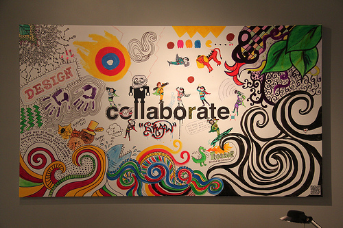 collaborate poster