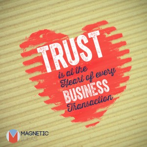 High-touch marketing, Trust is at the heart
