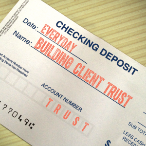 Making Trust Deposits