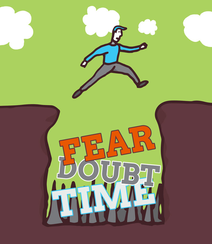 fear doubt time hamper content marketing initiatives