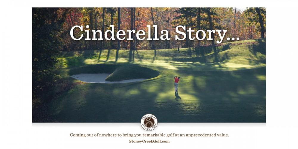 Cinderella Story... golf ad
