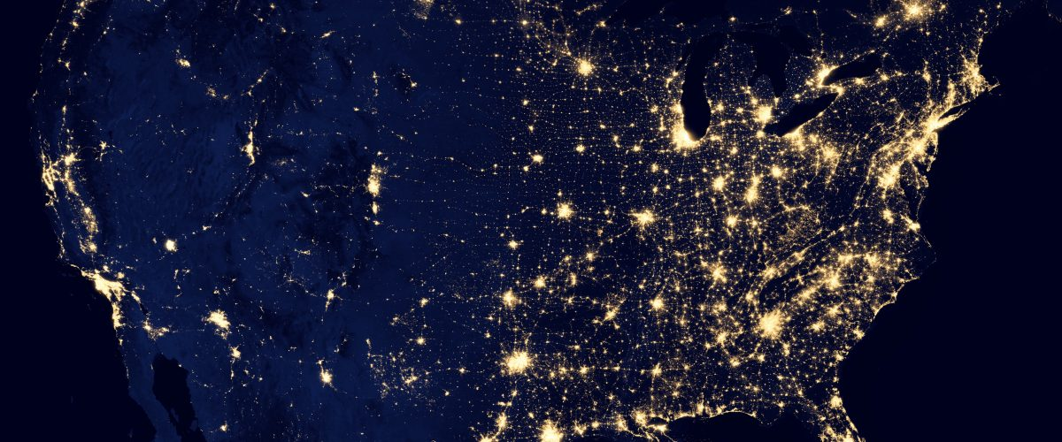 USA at Night- from NASA