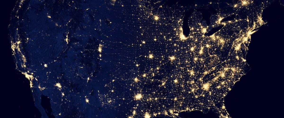 USA at Night- from NASA